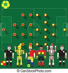 PORTUGAL vs GHANA - Group stage match The opposite of...