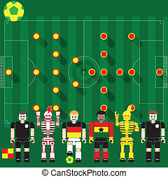 GERMANY vs GHANA - Group stage match The opposite of...