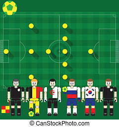 World Cup Group H - Group stage match The opposite of...