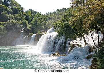Krka National Park in Croatia