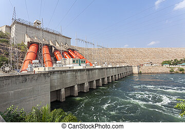 Hydroelectric Power Station - Akosombo Hydroelectric Power...