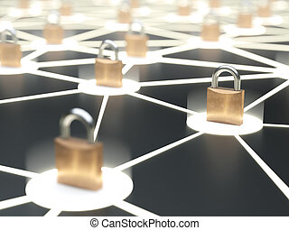 Abstract secure network concept