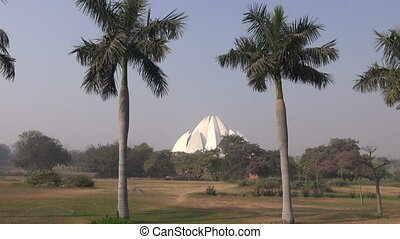 Lotus temple Bahai house in Delhi - Lotus temple Bahai house...