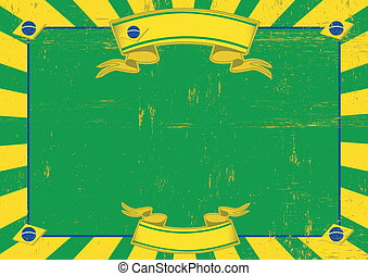 Brazil used horizontal background