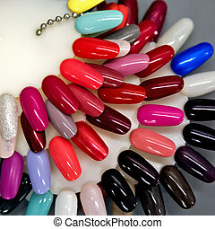 Nail polish samples set - A collection of nail polish...