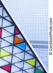 building skyscrape - modern glass building skyscrape