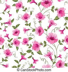 Design of vintage floral card. Vector illustration.