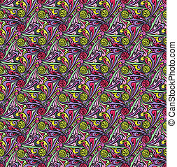 Vector abstract seamless pattern. Design template