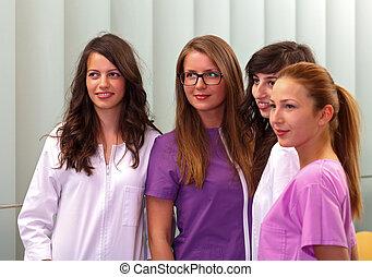 studenti, medico