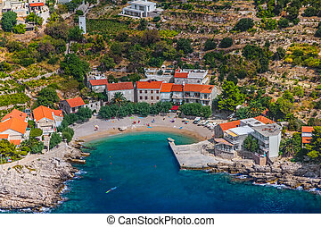 Small fishing village on the south part of the Peljesac...