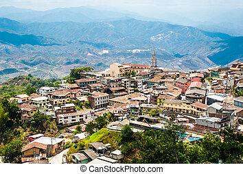 Zaruma - Town in the Andes, Ecuador - Zaruma - Town in the...