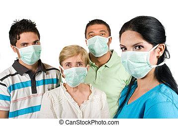 protección, gripe