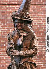 Witch, Salem, Massachusetts, USA - Salem, USA - October 29,...