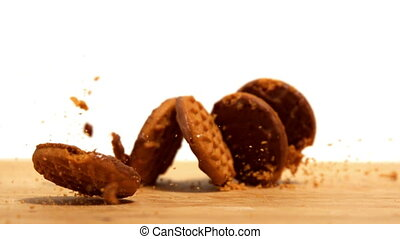 Biscuits falling and breaking - Biscuits falling and...