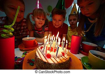 甜食, 生日