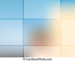 Grid opacity - Template abstract background for your...