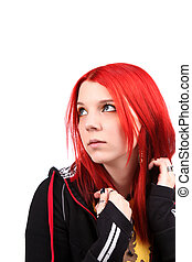 Teenage red hair girl - Beautiful red hair girl