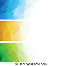 Abstract geometric polygonal background - Abstract geometric...