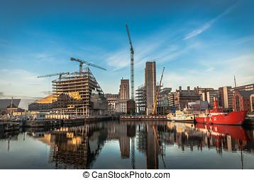 Modern City Construction - Development of new modern...