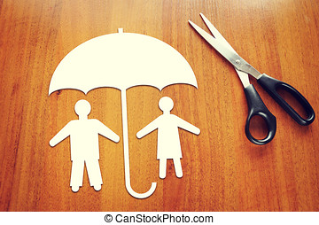 Concept of people insurance