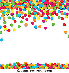 Confetti celebration background - Colorful celebration...