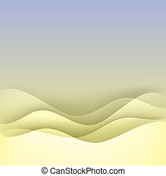 Soft wave abstract background.