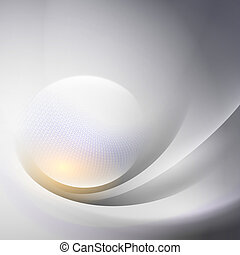Abstract background with  light lines and shadows.