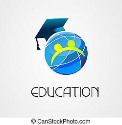 Global Education logo vector company
