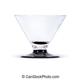 glass with clipping path