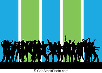 Party People Dancing