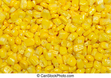 Sweetcorn kernels background