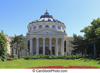 Romanian Athenaeum - Image of The Romanian Athenaeum in...