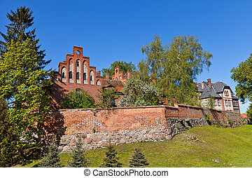 Sztum castle (1335) of Teutonic Order, Poland - Sztum castle...