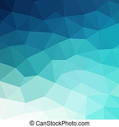 Extracto, azul, colorido, geométrico, Plano de fondo