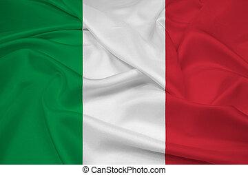 Waving Italy Flag