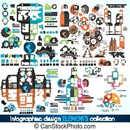 Timeline Infographic design template With paper tags Idea to...