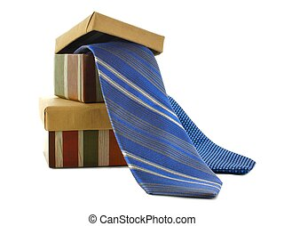 Fathers Day gifts - Fathers Day gift boxes and ties over...