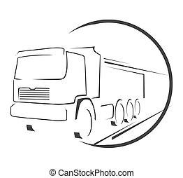 Big Truck Symbol