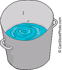 Water Dripping in Pail