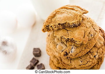 Chocolate chunk cookies - Gluten free chocolate chunk...