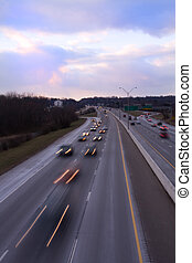 I-75 Knoxville at Dusk