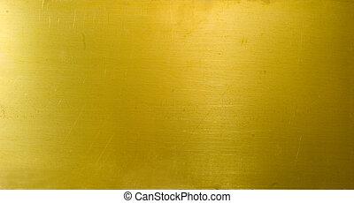 BRASS TEXTURE - brass plate