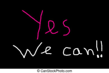 yes we can written on blackboard