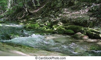 Mountain stream 1080p
