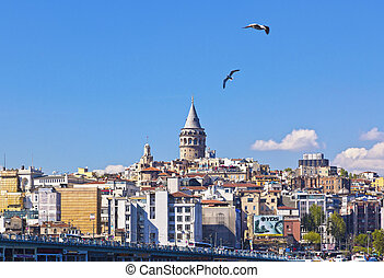 View from Istanbul, Turkey