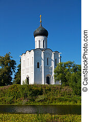 Church of Intercession upon Nerl River. Bogolubovo, Vladimir...