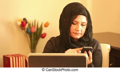 Muslim businesswoman