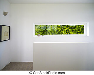 modern white window - modern rectangular white wooden window...