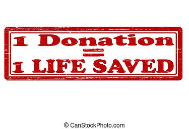 Life saved