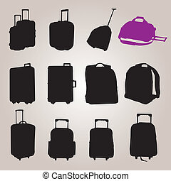 Bag collection vector 0058